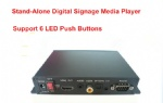 DS005B-3 Stand-Alone Digital Signage Media Player With 6 LED Push Buttons