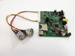 DS005B-4 Media Player Board With LED Push Buttons For Video Selection & Volume Control